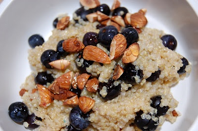 WARM AND NUTTY CINNAMON QUINOA | Hot & Cold Cereal & Parfaits | Pinte...