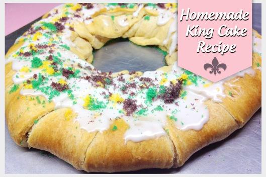Mardi gras King Cake (Minus pie filling!)