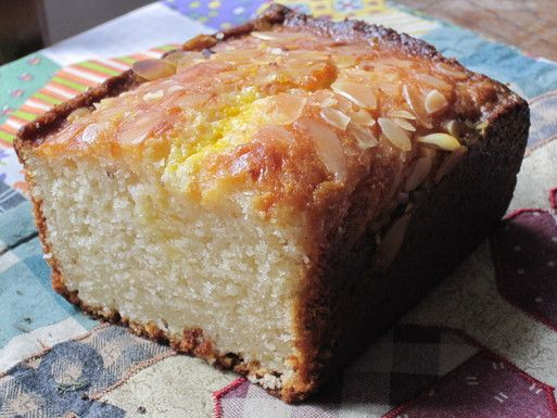 Almond Cake with Orange-Flower Water Syrup | Recipe