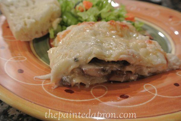 Mushroom Lasagna | food | Pinterest