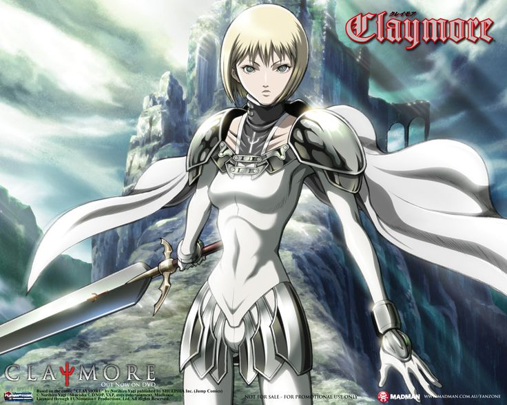 Claymore... This was one of the first series I read that made me go... O.O That's why, today, it remains as my favorite manga series.