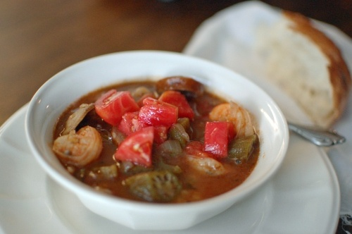 Shrimp and Andouille Sausage Gumbo | Eat, Drink, and be Merry | Pinte ...