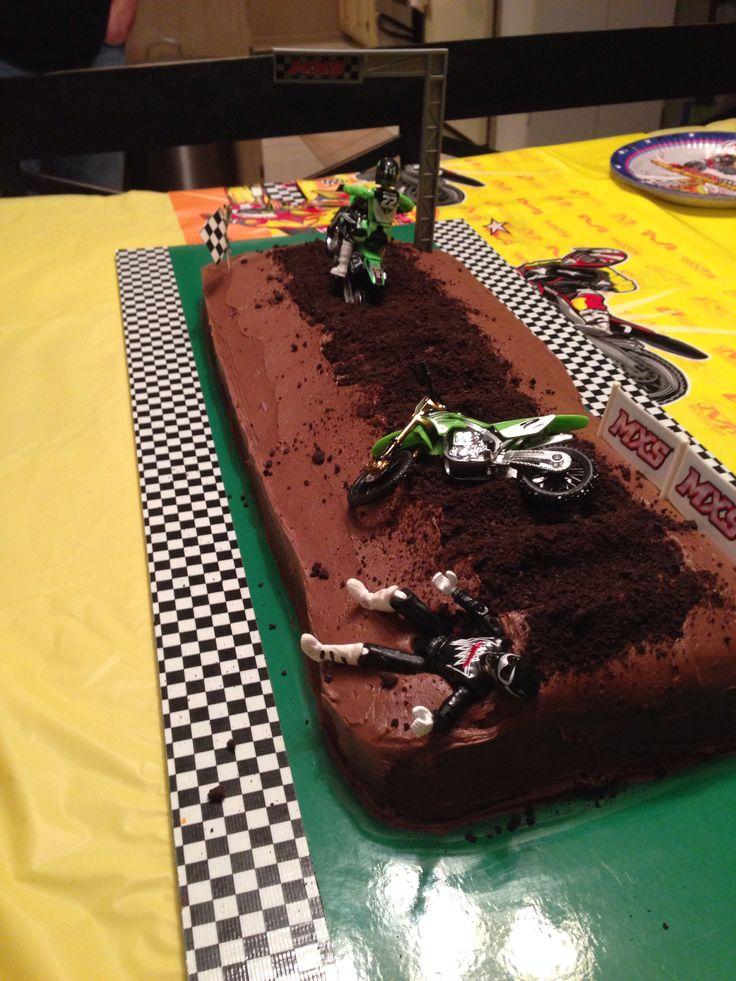 dirt bike cake - photo #25