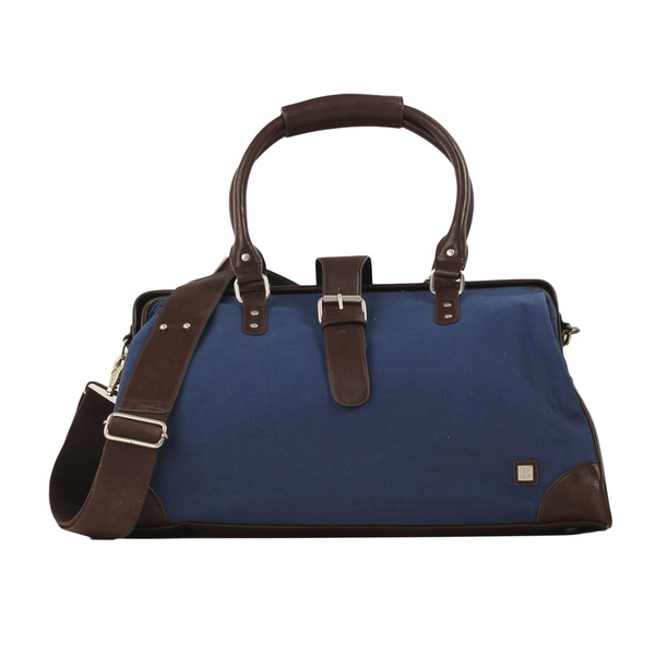 Weekender Bag Navy blue, men's bags, men's shoes  accessories