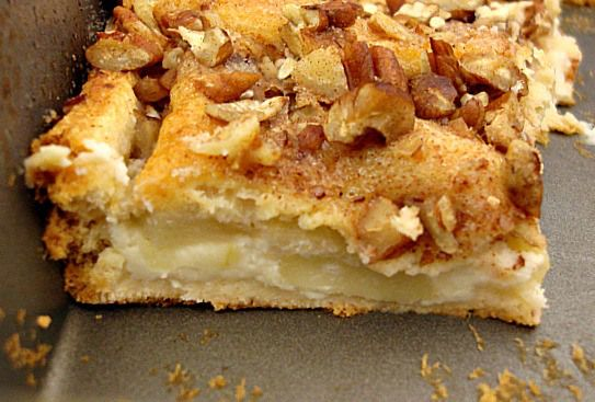 Apple Cream Cheese Bars 2 - very similar to Williamsburg bread, but ...