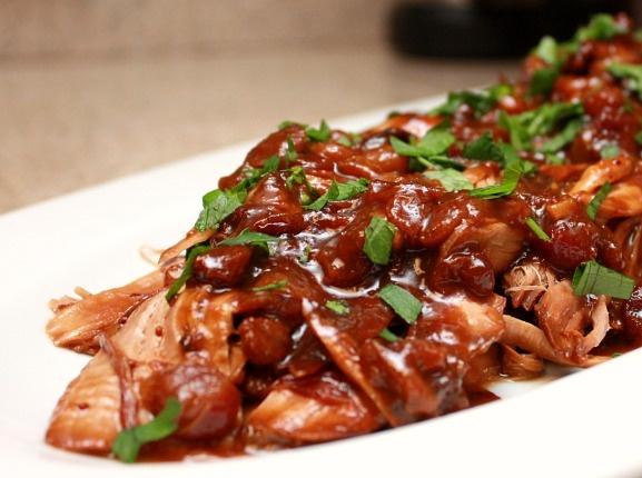 Slow Cooker Cranberry Pork | Crock Pot | Pinterest