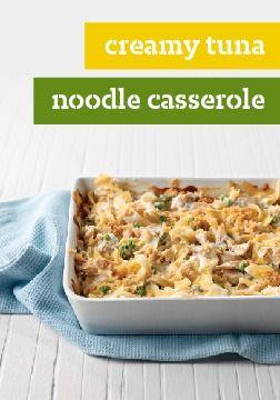 Creamy Tuna Noodle Casserole | Food | Pinterest