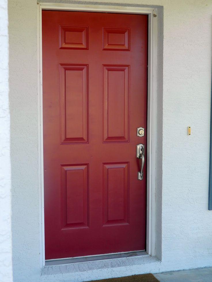 Dinner party red bm front doors pinterest for Red front door
