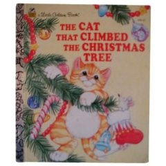 cat that climbed the christmas tree christmas countdown book ad
