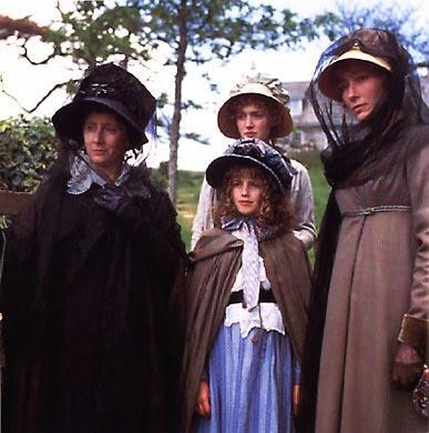 Dashwood women, Sense and Sensibility, 1995