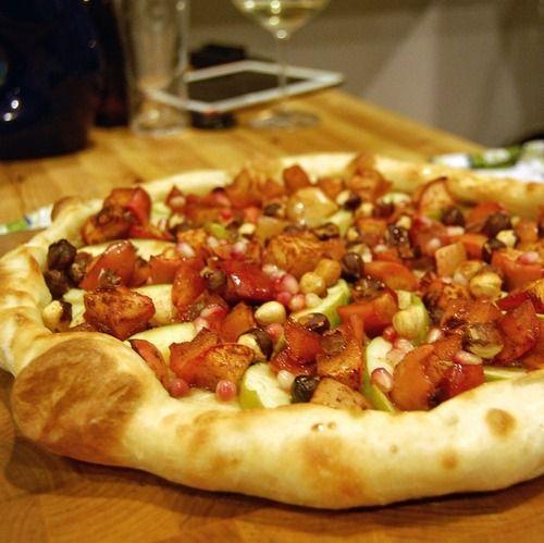 Rosh Hashanah #Pizza: Mascarpone cheese, crispy Granny Smith apple ...