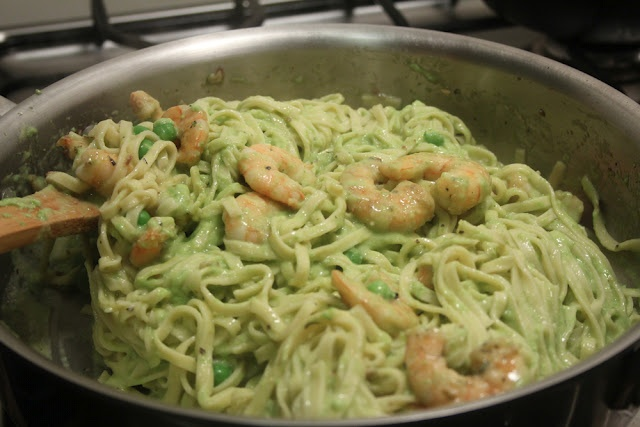 Linguine with Pea Pesto | Recipes | Pinterest