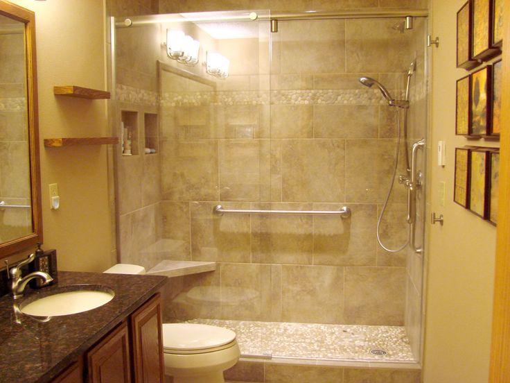 Basement shower tile bathroom remodel ideas pinterest for Basement bathroom remodeling ideas