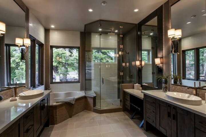 My dream bathroom home body pinterest for Pics of nice bathrooms