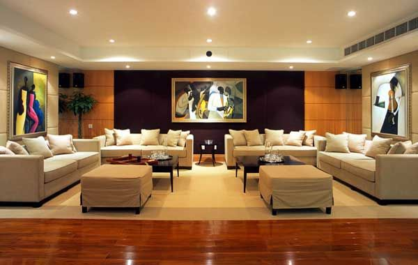 Decorating A Large Living Room Stunning Decorating Design