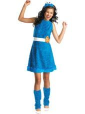 Girls Cookie Monster Costume - Party City