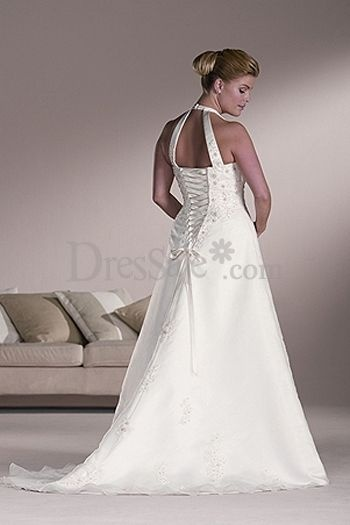 Unique style cute plus size wedding gown elegant plus for Unique wedding dress styles