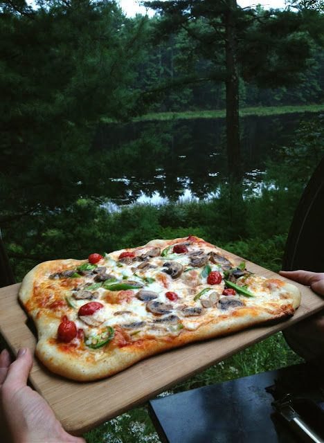 Pizza on the grill! | Neurotic Kitchen - Recipes, Meals & Menus from ...