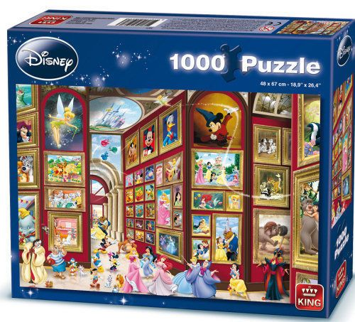 Disney Art Gallery King Puzzle Jigsaw | Car Interior Design