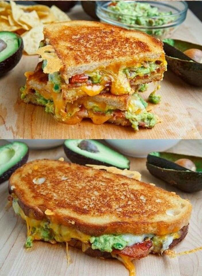 Bacon guacamole grilled cheese sandwich | Soups & Sandwiches & Chips ...