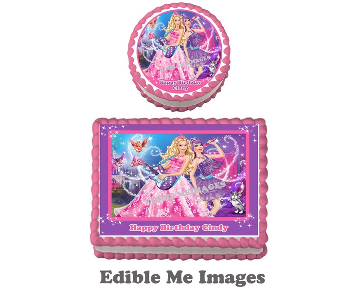 Barbie Fashion Edible Cake Ideas and Designs