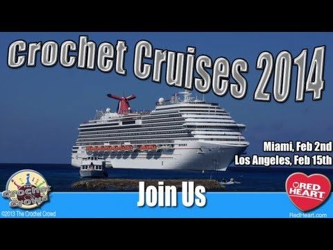 Crocheting Cruise : Crochet Cruises with The Crochet Crowd Crochet Pinterest