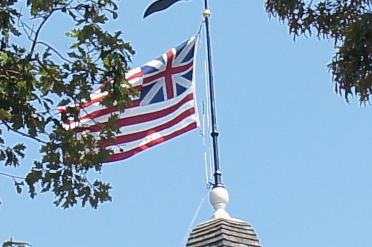 flags with union jack on