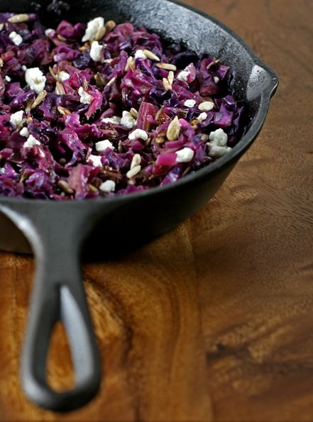 Tassajara warm red cabbage salad | Raw or Vegan Recipes | Pinterest