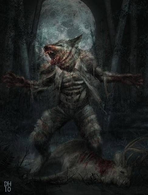 ... by Diana Salinas-Sandoval on Werewolves,Skinwalkers, & Lycans   P