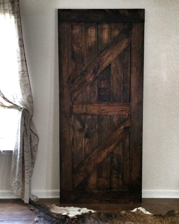 Rustic sliding barn door custom made for Custom barn doors