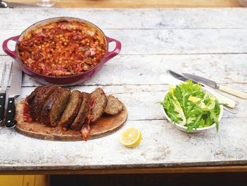 """Jamie Oliver """"Pot-Roast Meat Loaf"""" from Cookstr.com #cookstr"""