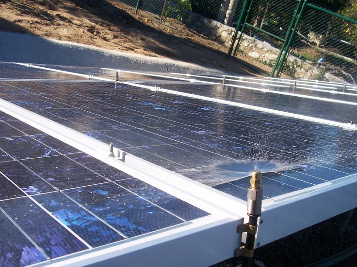 Automatic Solar Panel Cleaning Systems