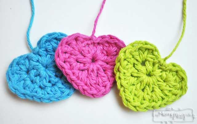 Free Crochet Patterns With Hearts : Pin by Corona on ? Crochet ? Hearts ? Pinterest
