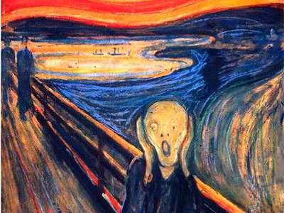 creativity and mental illness: the scream, edouard munch