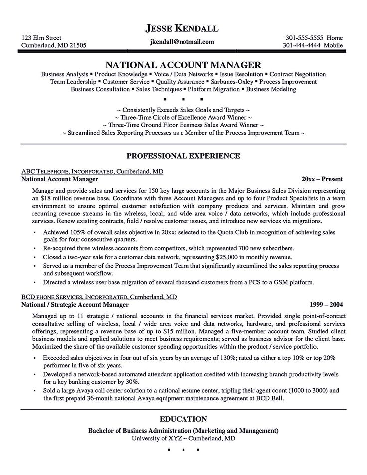 Latest Cv Format For Accounts Executive