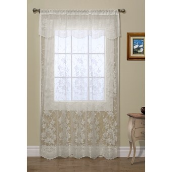 Image Result For Scalloped Lace Curtains