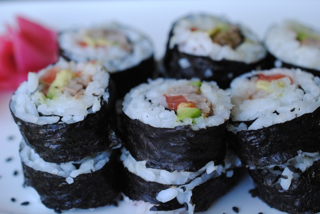Beef Sushi Rolls | Photos from my Food Blog | Pinterest