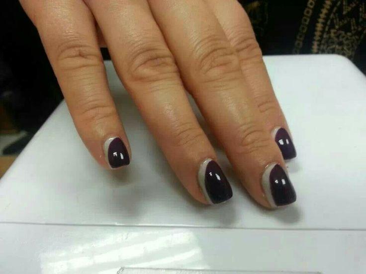 Shellac nail art Gia Cassidy Sanzios Salon Matawan NJ 732-566-6800