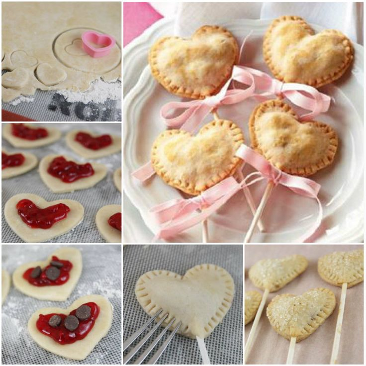 Heart Shaped Pie Pops! | Baking Sweets CupCakes - Cakes - Cookies | P ...