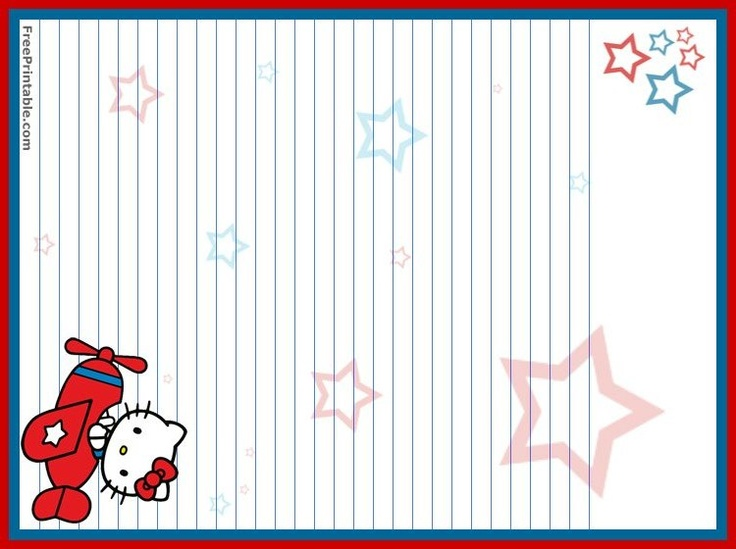 free printable hello kitty valentines day cards