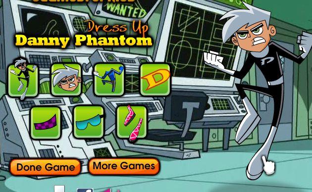 play danny phantom games