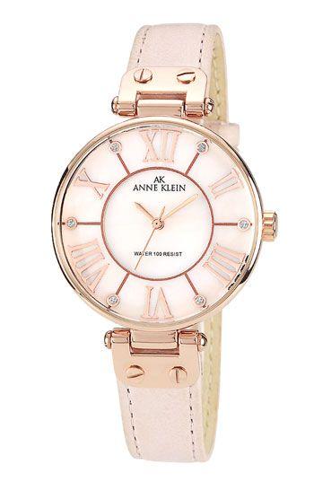 Anne Klein Round Roman Numeral Watch | Nordstrom