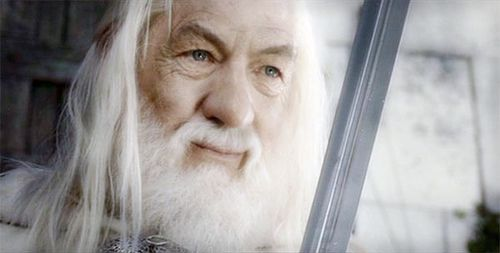 gandalf the white the lord of the rings