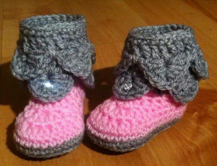 Free Crochet Patterns Crocodile Stitch Booties Traitoro For