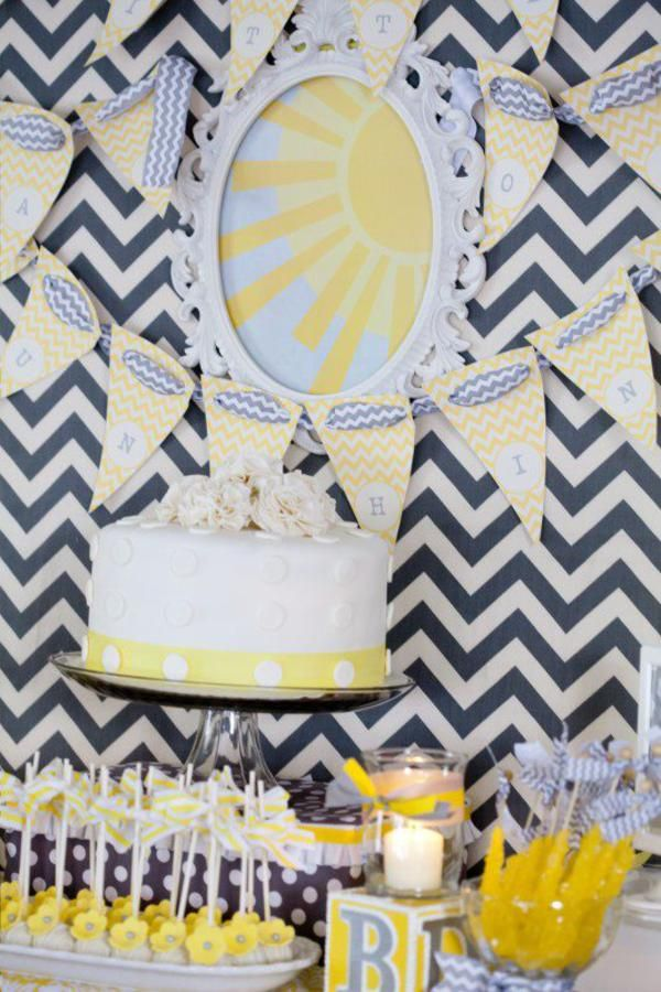 you are my sunshine summer gender neutral baby shower planning ideas