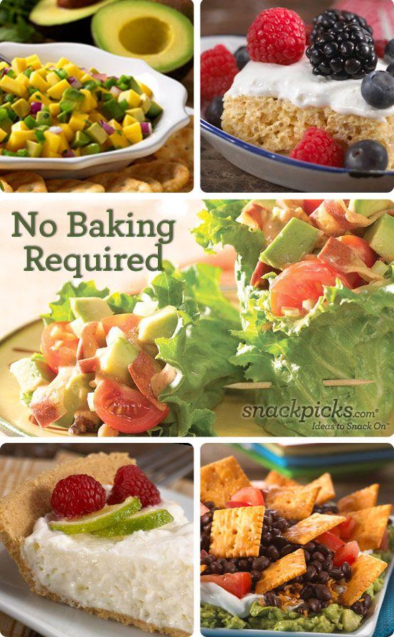 9 No Bake No Cook Easy Summer Recipes