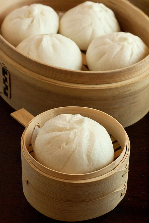 Chinese Chicken Steamed Buns | Food | Pinterest