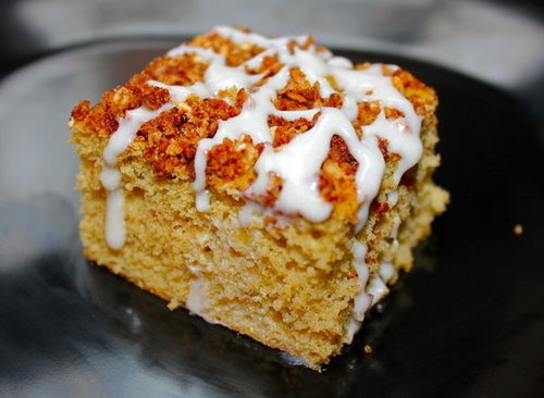 Cinnamon Streusel Protein Coffee Cake- made it with banana instead of ...