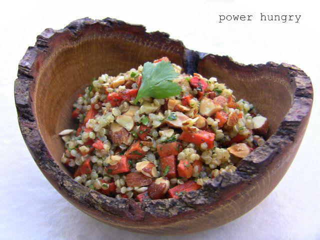 Roasted Carrot & Quinoa Salad with Lemon-Coriander Dressing | Recipe