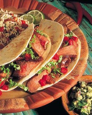 BEEF STEAK SOFT TACOS | Fajitas/Nachos/Tacos/Pizza | Pinterest